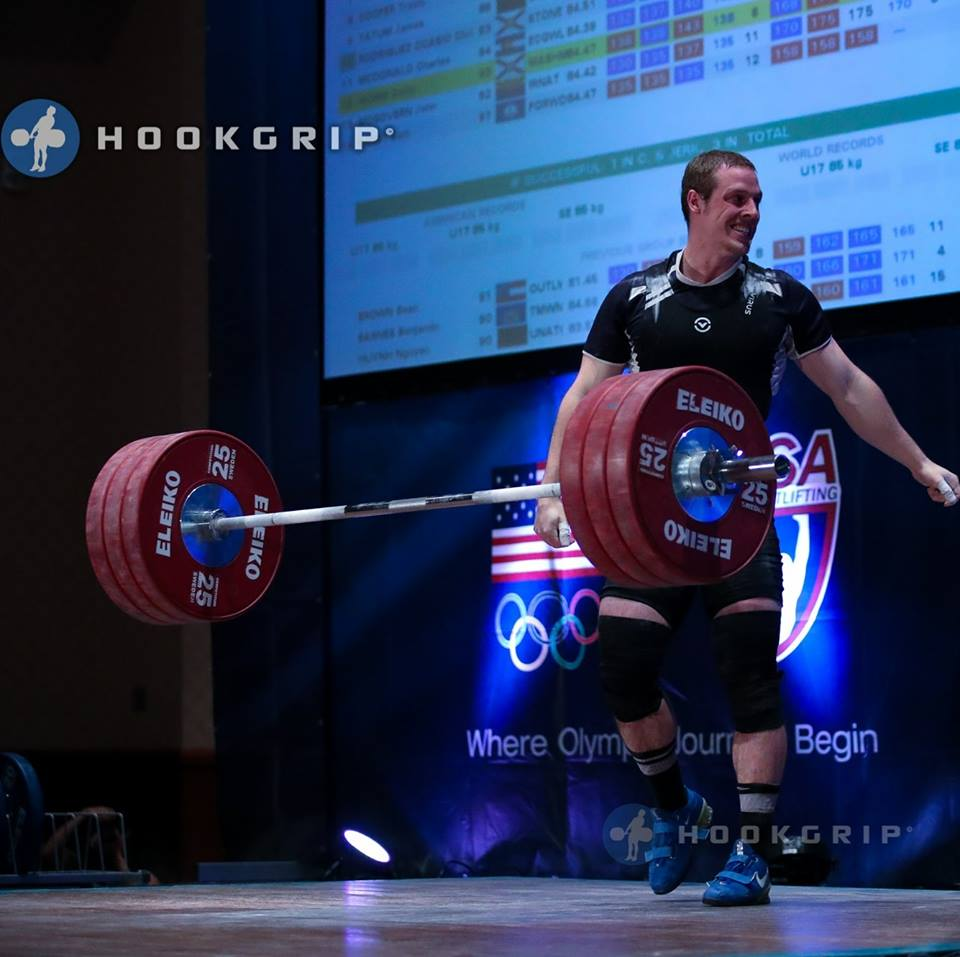 collin worm weightlifting
